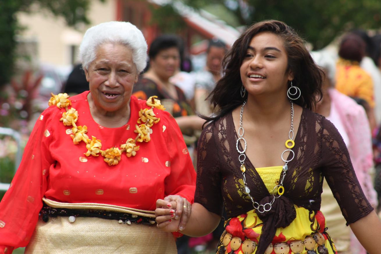 Dress in Tonga