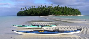Kayaking in Tonga